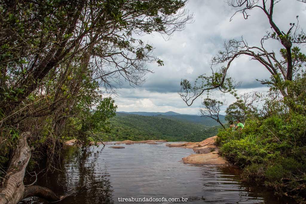 Janela do Céu de Ouro Preto, na Cachoeira Brás Gomes