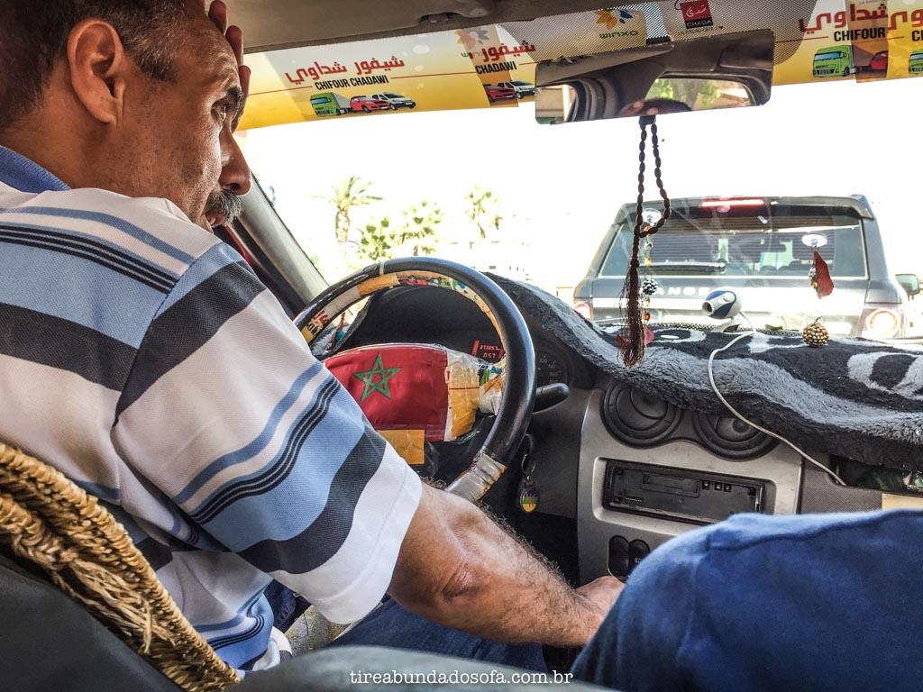 como pegar táxi no marrocos