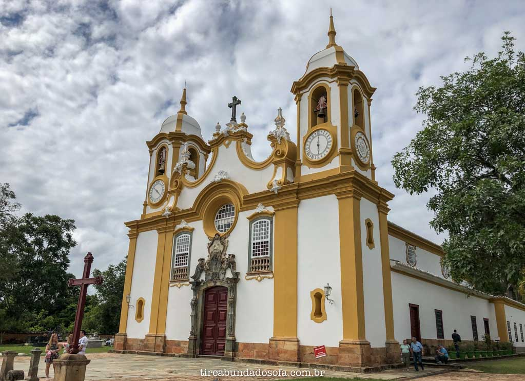 Igreja Matriz de Santo Antônio, em Tiradentes, Minas Gerais