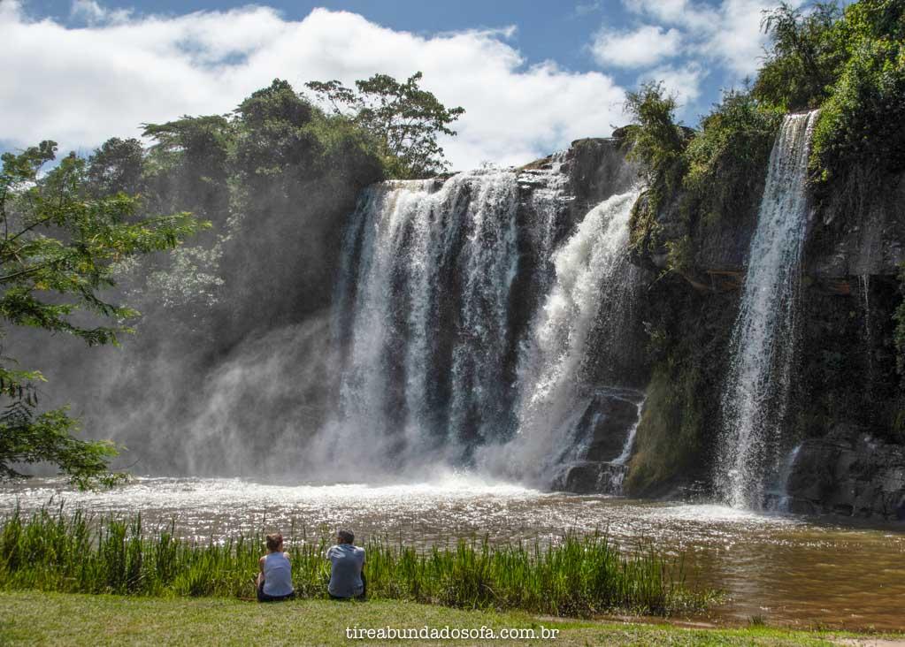 Cachoeira da Fumaça, em Carrancas, MG