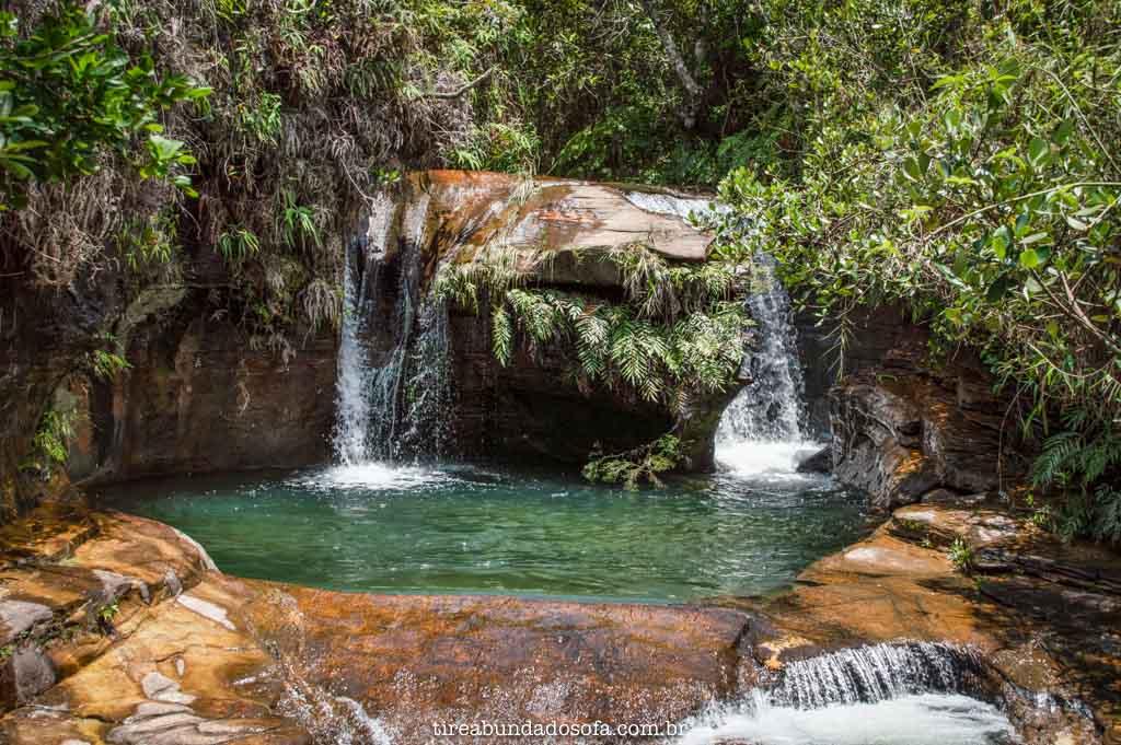 Poço da Cachoeira da Toca, em Carrancas, MG