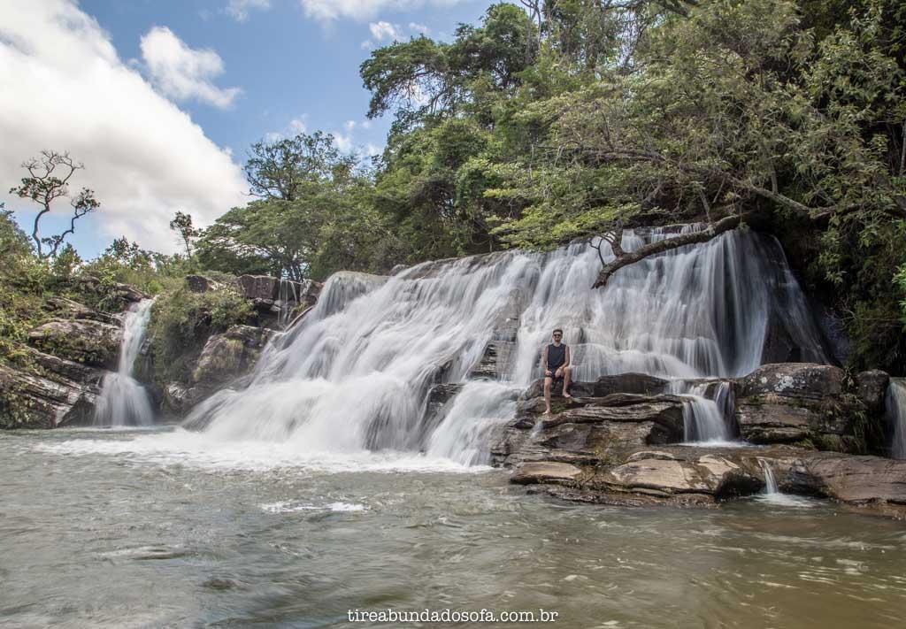 Cachoeira da Zilda, em Carrancas, Minas Gerais