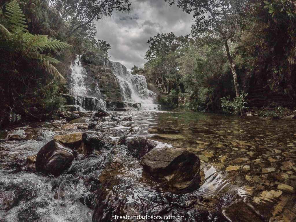 Cachoeira do Salomão, em Carrancas, Minas Gerais