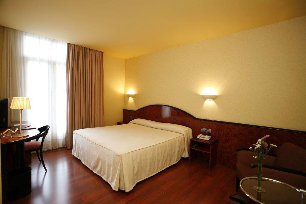quartos do hotel caledonian, em barcelona, espanha