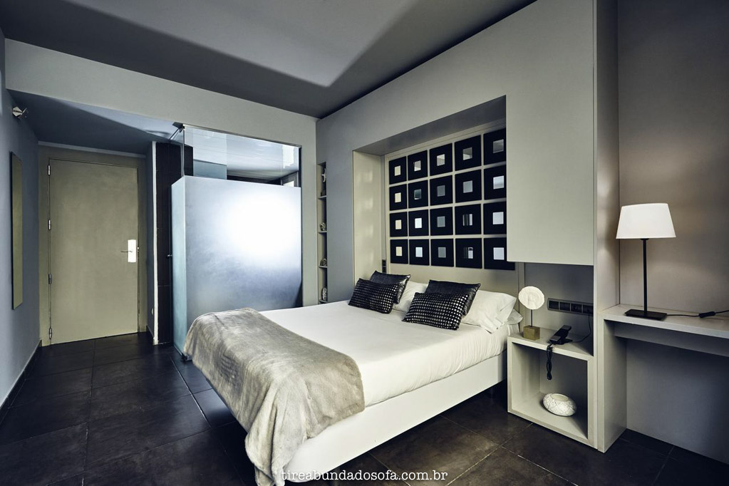 Quarto do Hotel 54 Barcelona, na Espanha