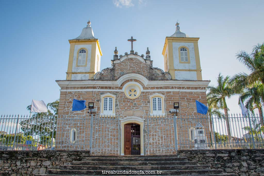 Igreja Matriz de Carrancas, em Minas Gerais