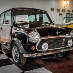 O famoso carro do Mr. Bean, no Museu do Automóvel da Estrada Real, em Bichinho, Minas Gerais