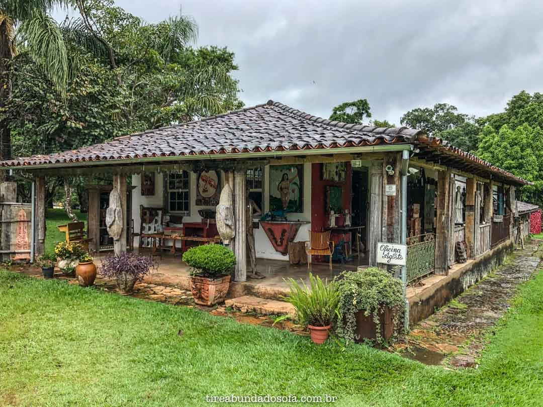 Oficina de Agosto, em Bichinho, Minas Gerais