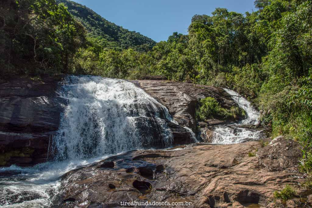 Cachoeira dos Macacos, em Aiuruoca, Minas Gerais