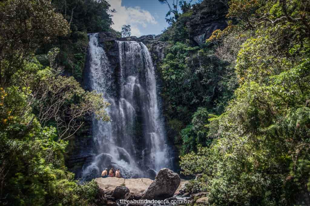 Cachoeira dos Garcias, em Aiuruoca, Minas Gerais