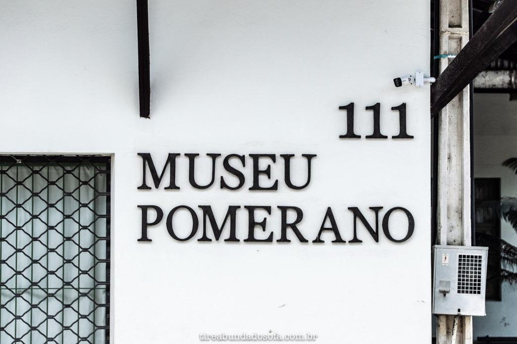 Museu Pomerano, em Pomerode, Santa Catarina