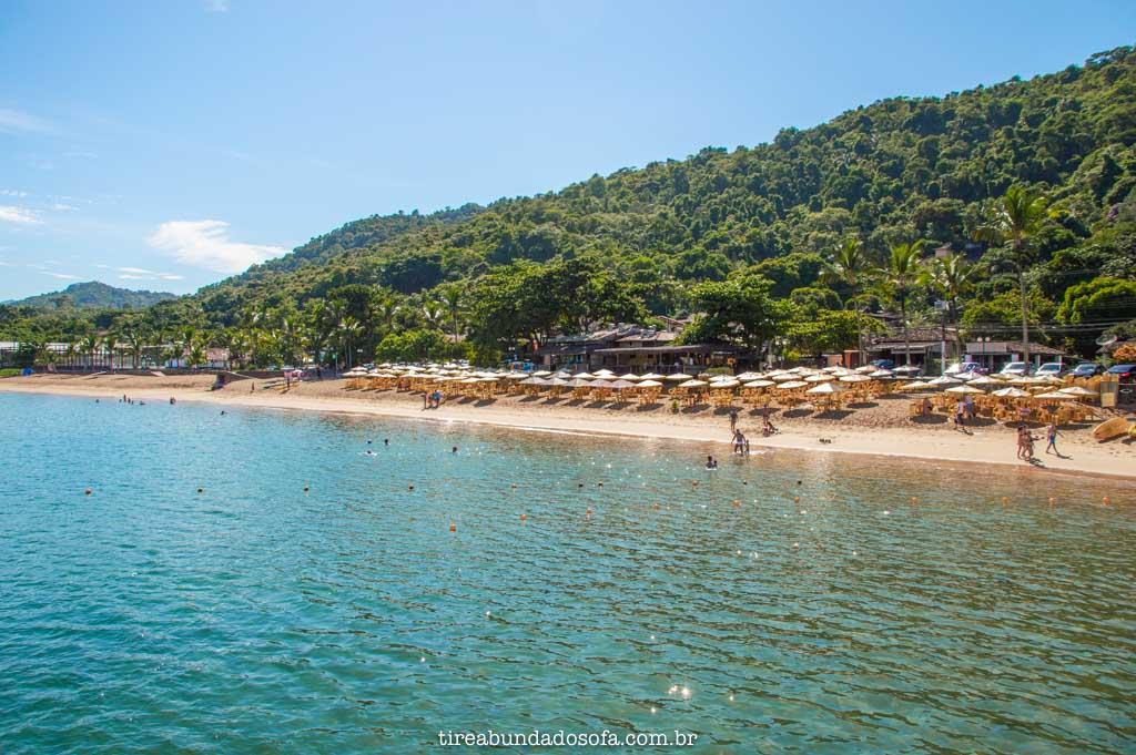 Praia Grande de Ilhabela, em sp