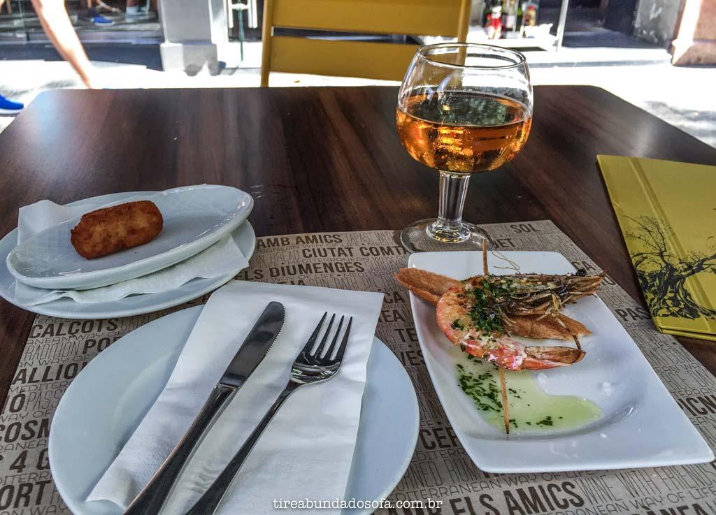 tapas, comidas típicas da espanha