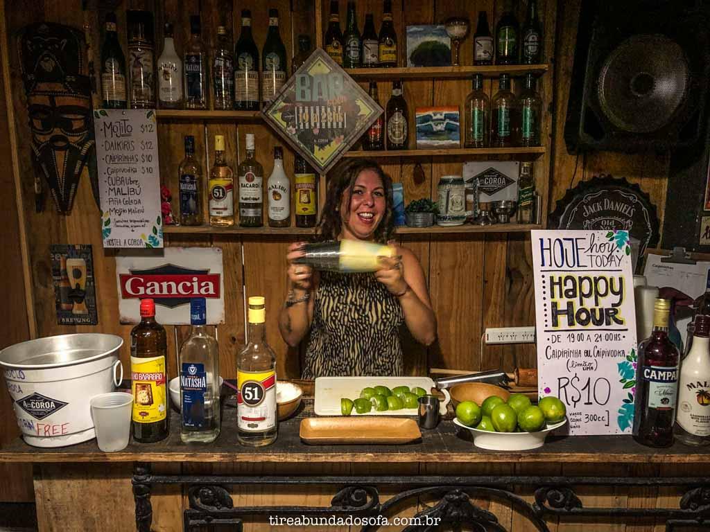 Bar do Hostel A Coroa