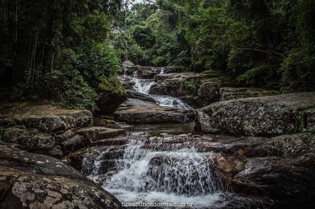 Cachoeira do Vale Verde, em Alto Caparaó, MG