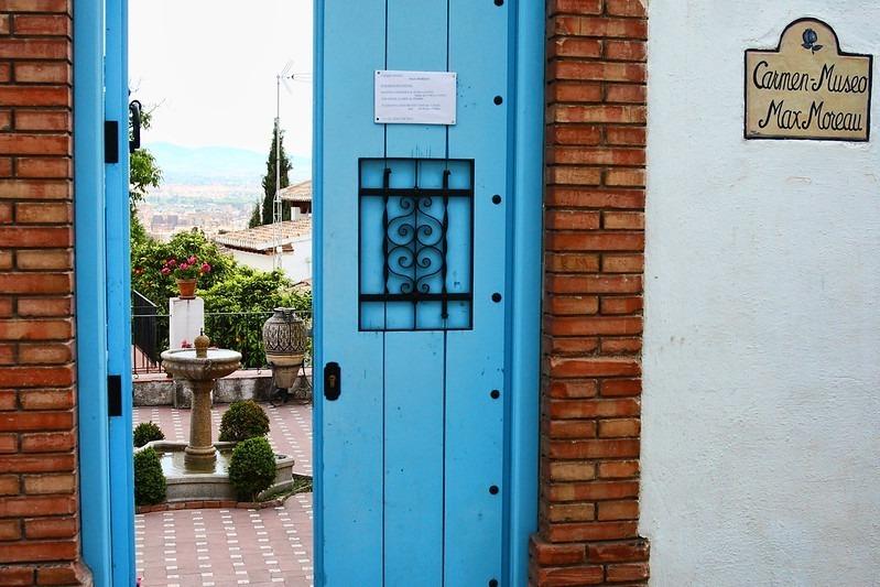 Carmen-Museo Max Moreau em Granada, Espanha
