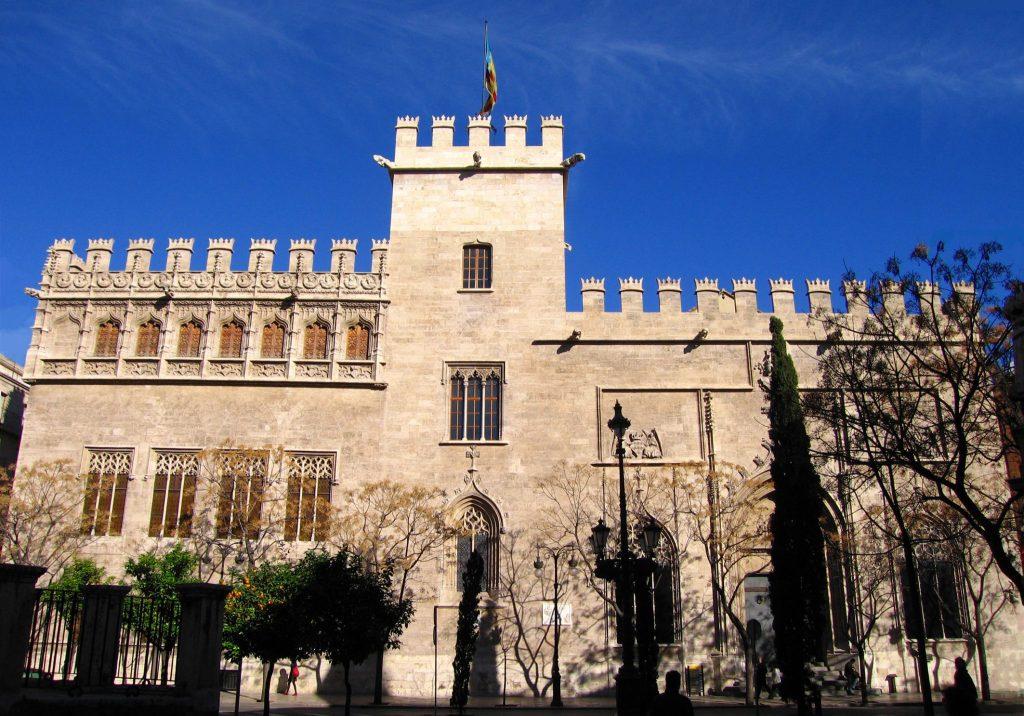Lonja de la Seda em Valência, na Espanha