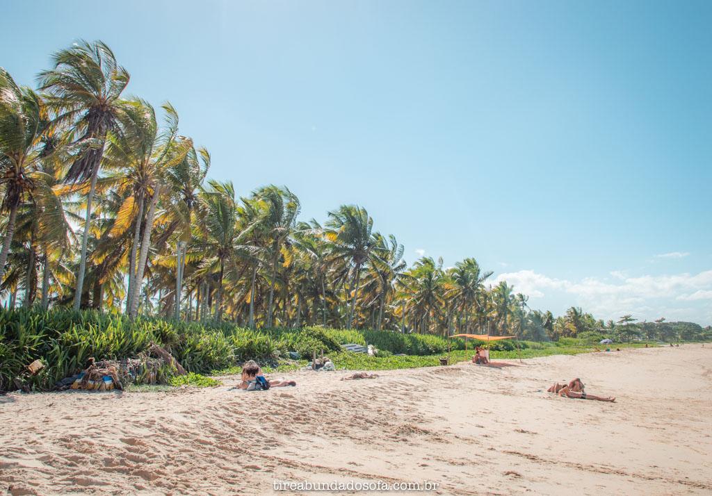Praia dos Pescadores em arraial dajuda