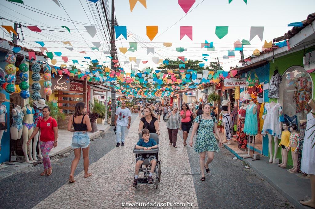 A colorida Rua Brodway