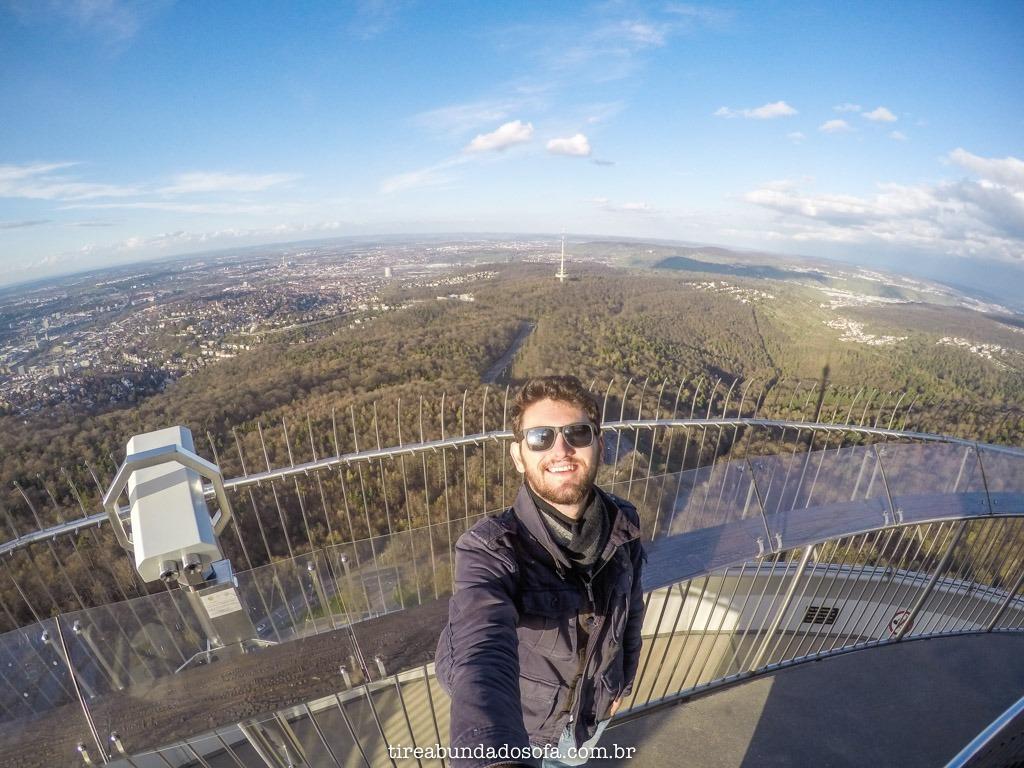 vista sensacional da Fernsehturm