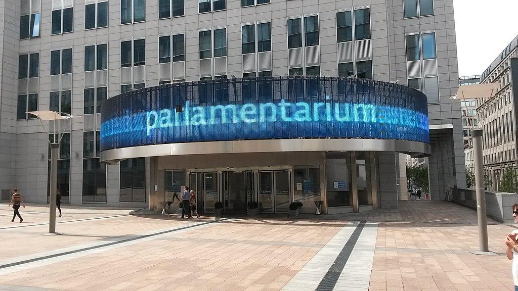 Parlamentarium de Bruxelas, na Bélgica