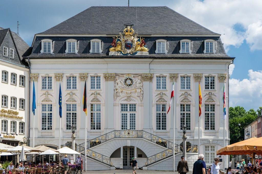 Prefeitura Rathaus em Bonn, na Alemanha