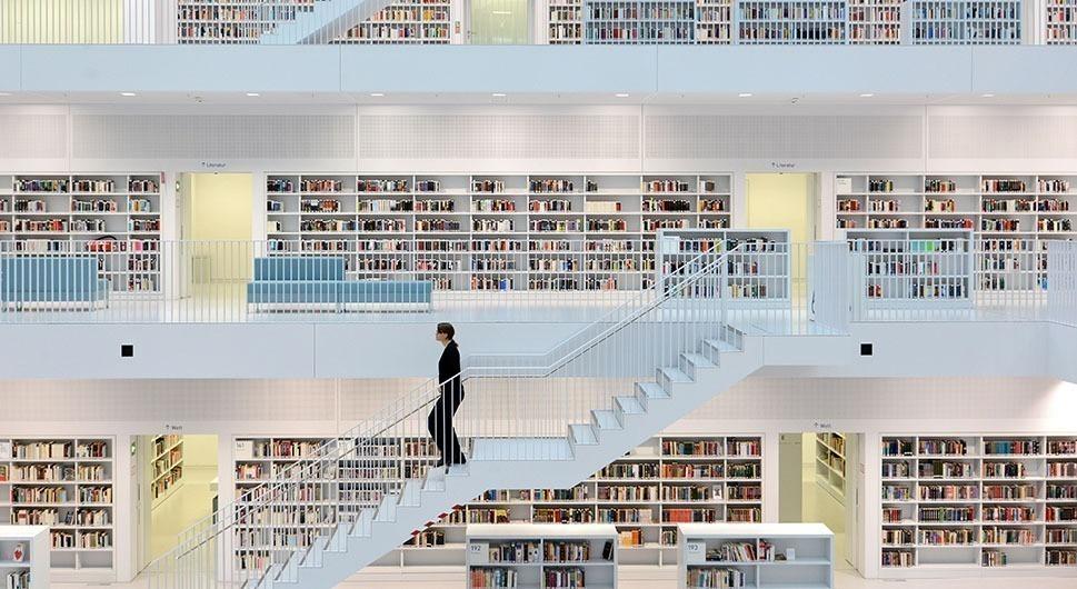 Stadtbibliothek, a biblioteca de Stuttgart