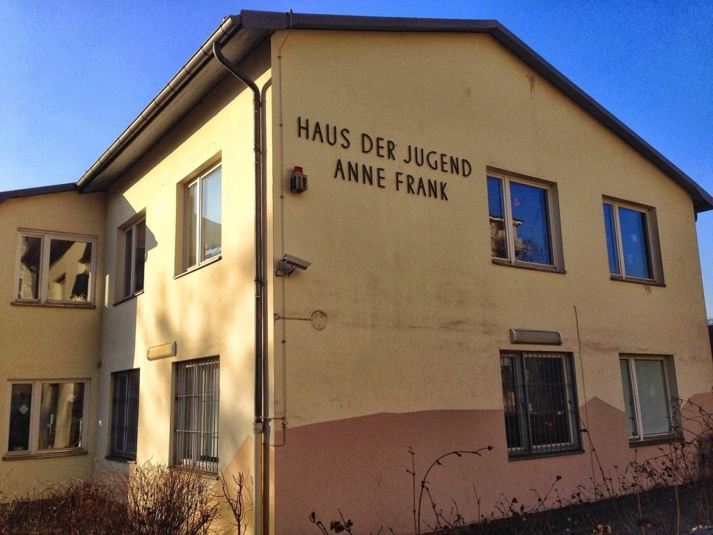 Casa da Anne Frank em Amstedam na Holanda.