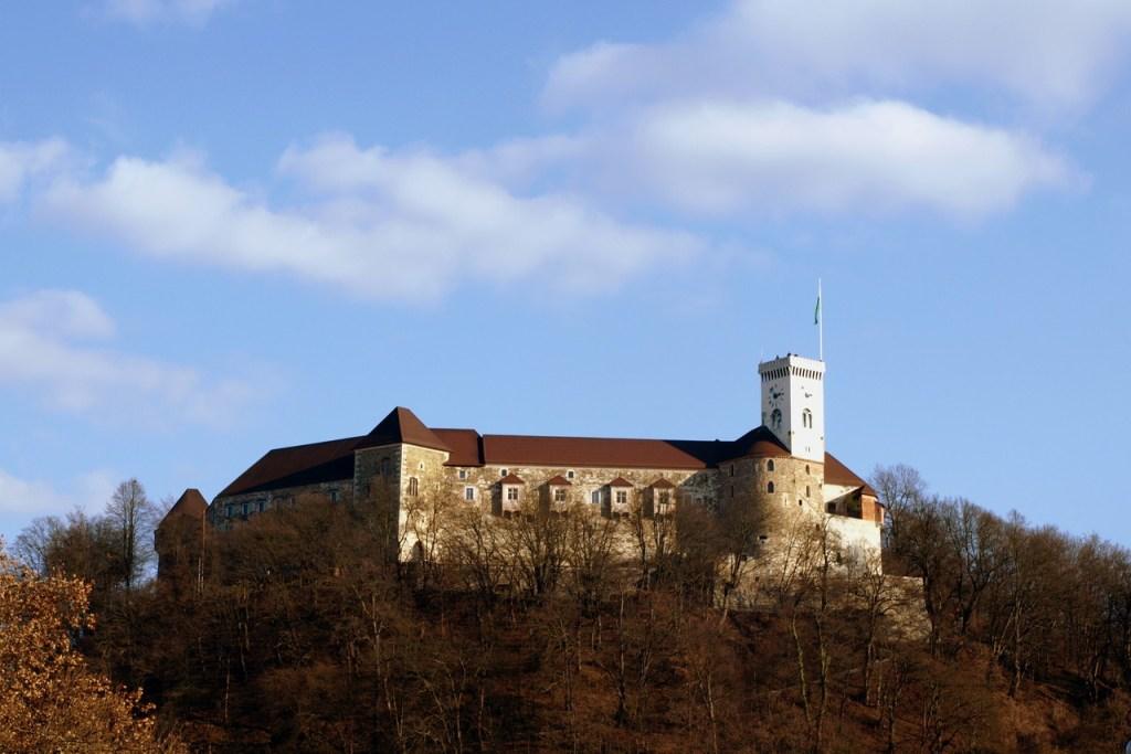 Castelo de Ljubljana, na Eslovênia