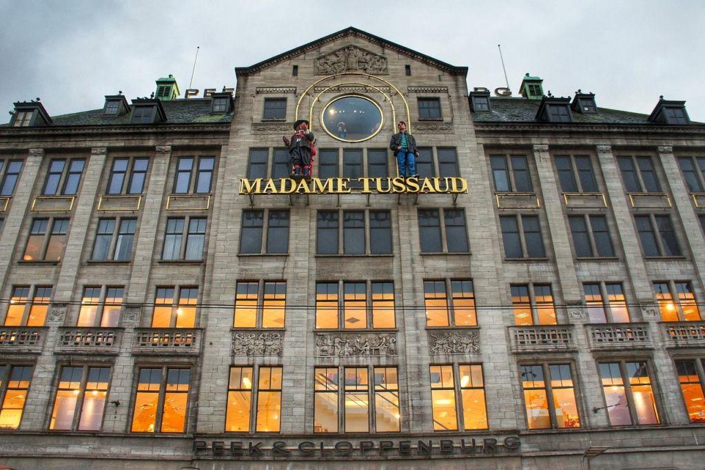 Mudeu Madame Tussaud em Amsterdam, na Holanda