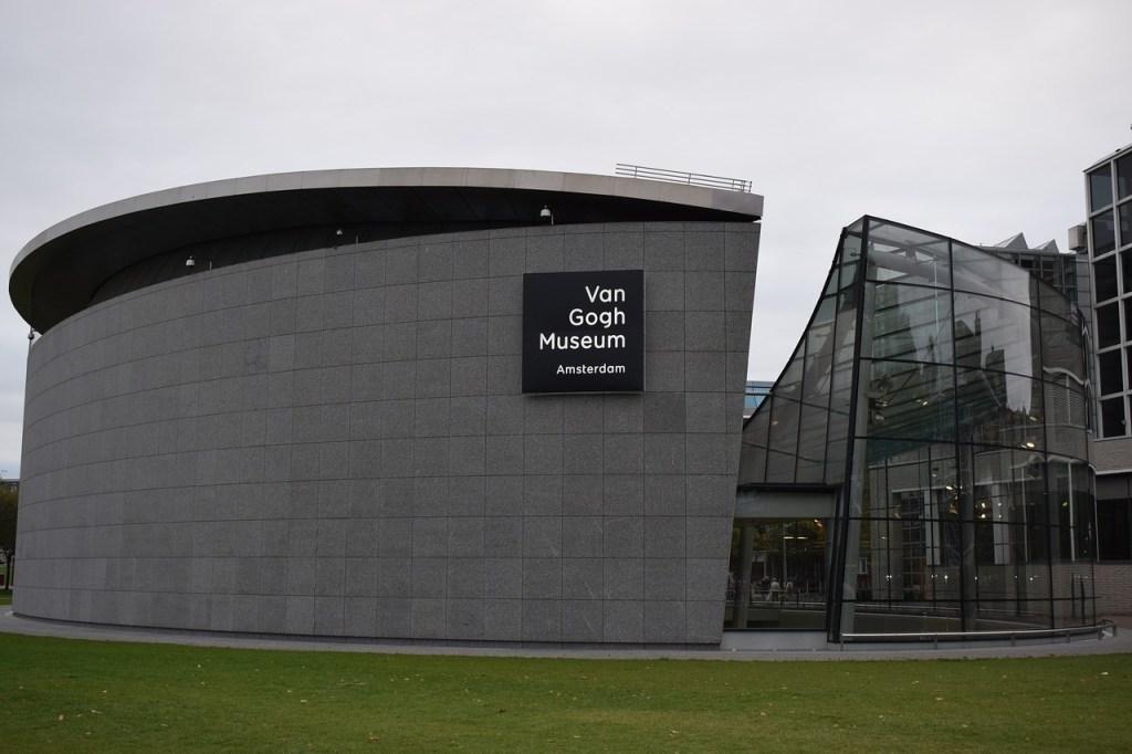 Museu Van Gogh em Amsterdam, na Holanda