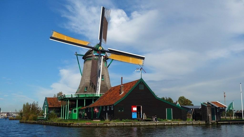 Zaanse-Schans-em-Amsterdam-na-Holanda