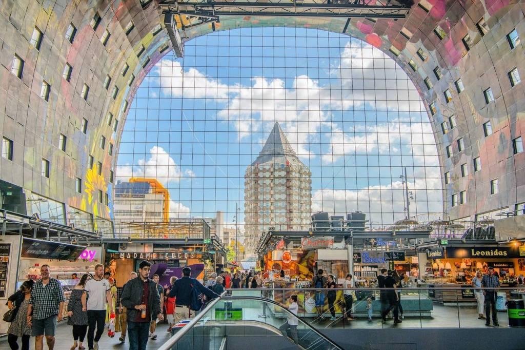 Markthal em Rotterdam na Holanda