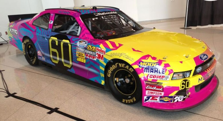 Photo: Travis Pastrana No.60 Roush Fenway Nationwide paint scheme   Tireball NASCAR News, Rumors ...