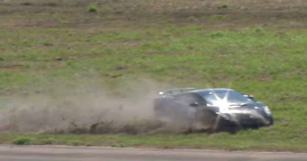 2000 HP Lamborghini Gallardo Crashed At 200 MPH 2