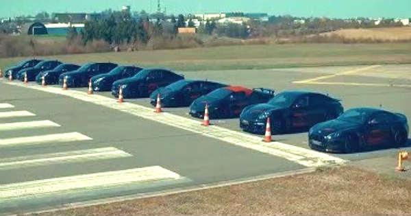 AUDI RS6 vs GTR vs ASTON MARTIN vs HURACAN and PORSCHE TURBO 911 S DRAG RACE 22