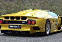 Extremely Rare Lamborghini Diablo GT1 Stradale 1