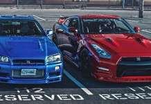 Nissan Skyline GTR R34 vs Nissan GTR R35 1