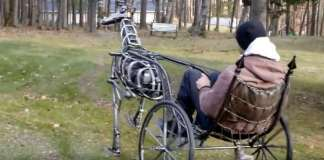 Steampunk Mechanical Chariot Robot 1