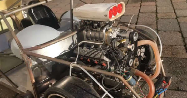 This RC Bentley Car With V8 Blown Engine Sounds Amazing 111