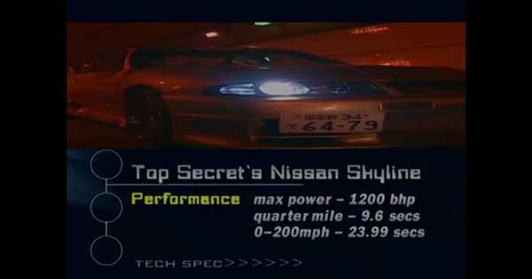 1200HP Nissan Skyline Tunnel 2