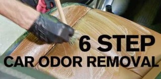 Car Odor Removal Technique Takes Just 6 Steps 11