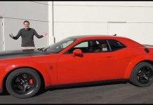 Doug DeMuro Thoroughly Reviews The 840HP Dodge Demon 1