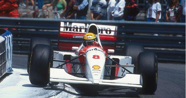 For Auction Ayrton Sennas Winning Formula 1 Car From Final Monaco Grand Prix 1