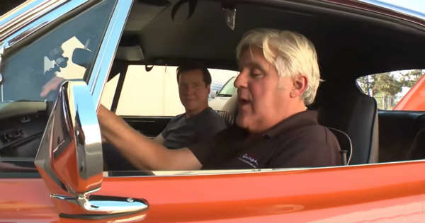 Jay Leno Drive The Almighty 1970 Plymouth Superbird 1