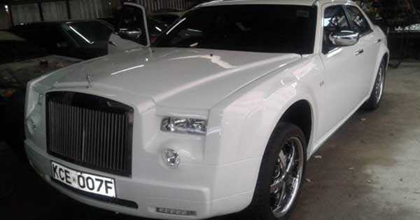 Mercedes Converted To Rolls Royce 1