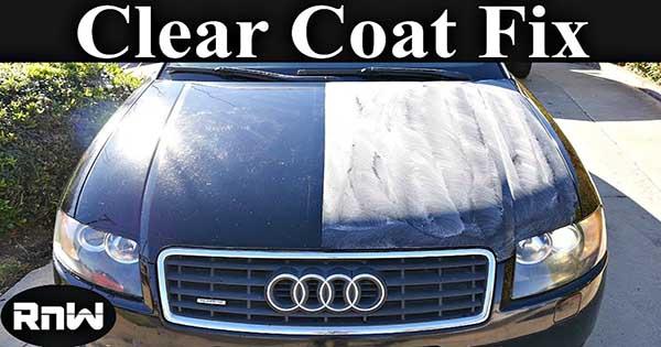 Repair The Clear Coat Damage 1