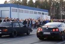 Sleepers vs Supercars Drag Race Battle 1