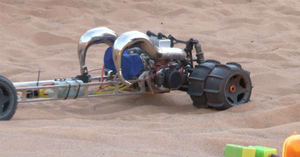 The Craziest RC Sand Drag Car Ready For RC Competition 1
