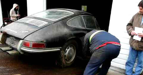 This Barn Find 1965 Porsche 912 Was The Perfect Christmas Present 1